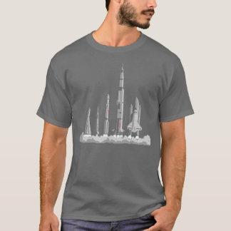 Le T-shirt de course de l'espace