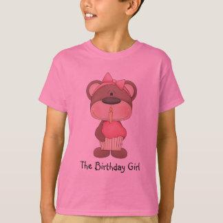 Le T-shirt de fille d'anniversaire