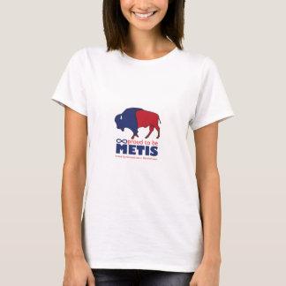 Le T-shirt de la femme de Buffalo de Metis