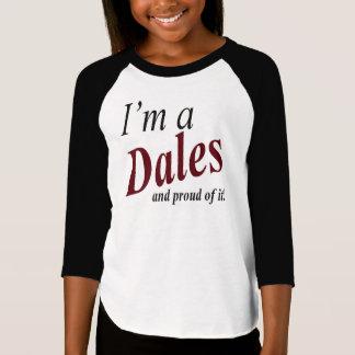 Le T-shirt de la fille de famille de vallées avec