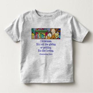 Le T-shirt de l'enfant affectueux de vacances de