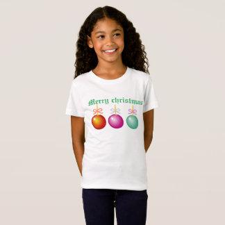 Le T-shirt de l'enfant de Joyeux Noël