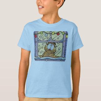 Le T-shirt de l'enfant de réveillon de Noël de