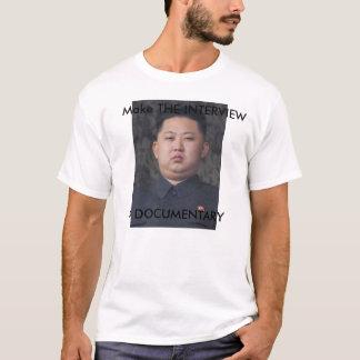 Le T-shirt de l'ONU de Kim Jong d'ENTREVUE