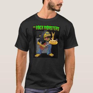 Le T-shirt de monstres de roche