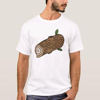 Le T-shirt de rondin