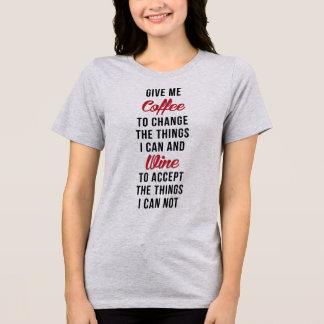 Le T-shirt de Tumblr me donnent le café pour