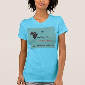Le T-shirt de turquoise de confiance d'Alkebulan