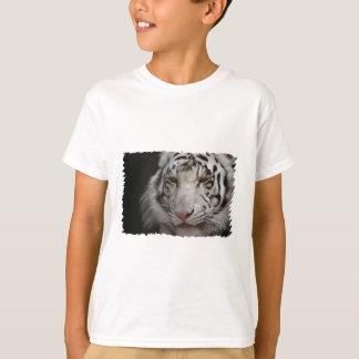 Le T-shirt des enfants blancs de tigre