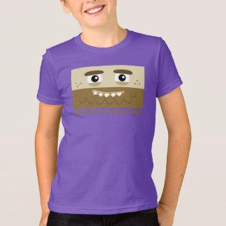 Le T-shirt des enfants d'homme des cavernes de