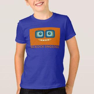 Le T-shirt des enfants d'orange de bande