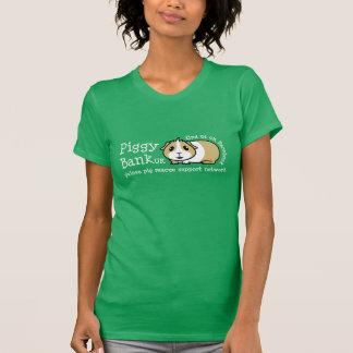 Le T-shirt des femmes BRITANNIQUES de tirelire