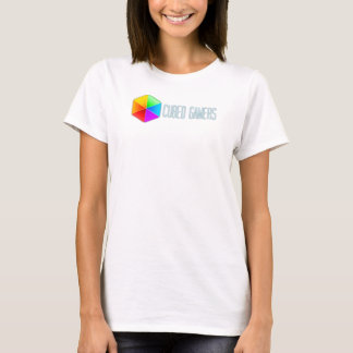 Le T-shirt des femmes cubées de Gamers