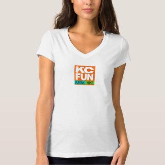 Le T-shirt des femmes d'AMUSEMENT de kc, petit