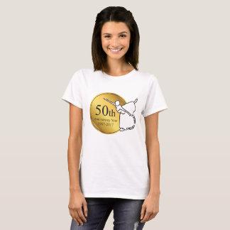 Le T-shirt des femmes d'anniversaire de ballet