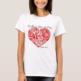 Le T-shirt des femmes de 51:10 de psaume