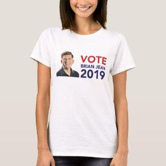 Le T-shirt des femmes de Brian Jean de vote