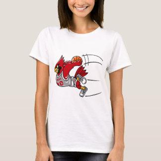 Le T-shirt des femmes de cardinaux