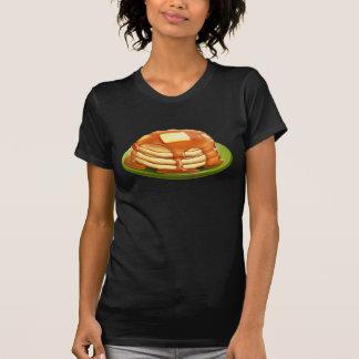 Le T-shirt des femmes de crêpes