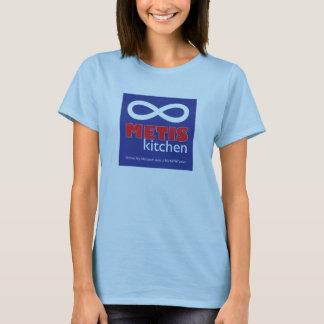 Le T-shirt des femmes de cuisine de Metis