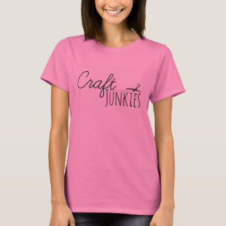 Le T-shirt des femmes de drogués de métier