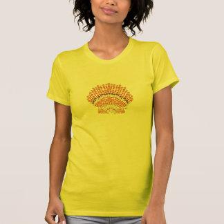 Le T-shirt des femmes de feston de baie