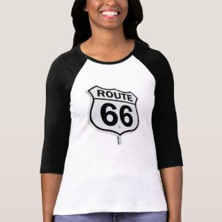 Le T-shirt des femmes de l'itinéraire 66