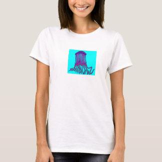 Le T-shirt des femmes de méduses de Santa Cruz