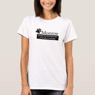 Le T-shirt des femmes de Monroe SPCA