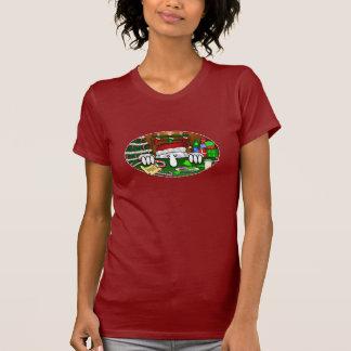 Le T-shirt des femmes de Père Noël Kilroy