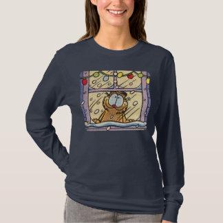 Le T-shirt des femmes de réveillon de Noël de