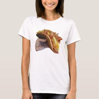 Le T-shirt des femmes de taco de crêpe