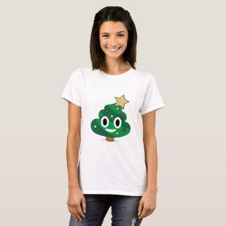 Le T-shirt des femmes d'Emoji de dunette d'arbre