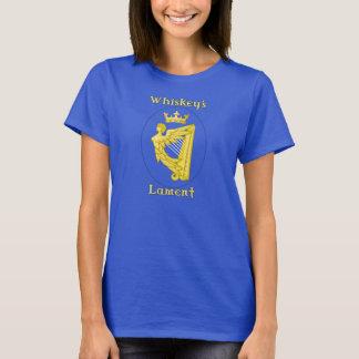 Le T-shirt des femmes d'insigne du Lament du
