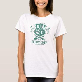 Le T-shirt des femmes Geeky de chef