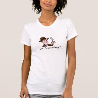 Le T-shirt des femmes obtenues d'archéologie