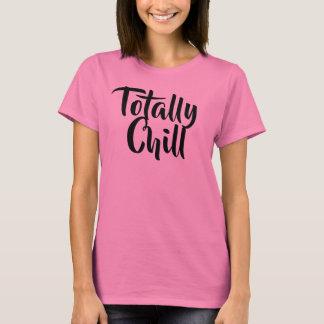 Le T-shirt des femmes totalement froides