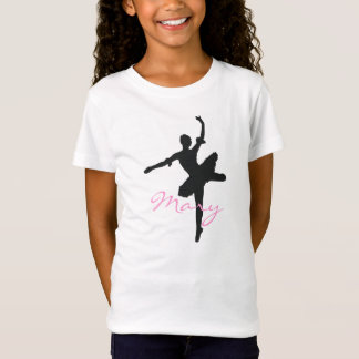 Le T-shirt des filles de ballet