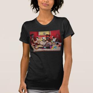 Le T-shirt des hautes de Wydowna de monstre femmes