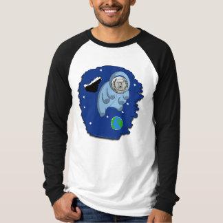 Le T-shirt des hommes Astro-Tardigrade