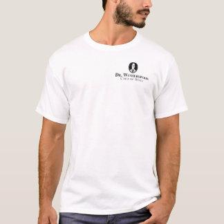 """le T-shirt des hommes avec le logo de """"Dr."""