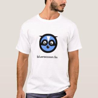 le T-shirt des hommes bleus de raton laveur