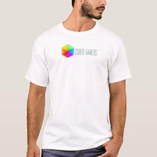 Le T-shirt des hommes cubés de Gamers