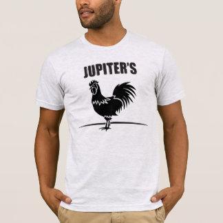 Le T-shirt des hommes de coq de Jupiters…