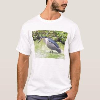 Le T-shirt des hommes de héron de nuit