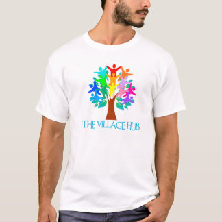 Le T-shirt des hommes de hub de village