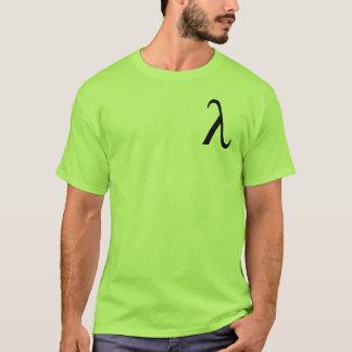 Le T-shirt des hommes de lambda (petit logo)
