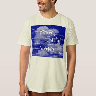 Le T-shirt des hommes de ministère de châle de