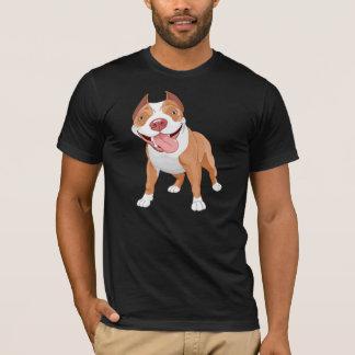 Le T-shirt des hommes de pitbull