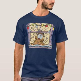 Le T-shirt des hommes de réveillon de Noël de